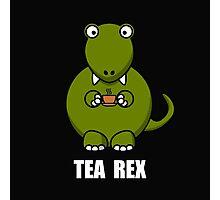 Tea Rex Dinosaur 2 Photographic Print