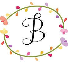 Beautiful Intials ~ B by mezzilicious