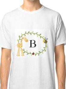 Nursery Letters B Classic T-Shirt