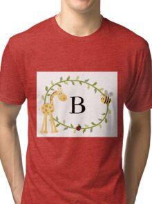 Nursery Letters B Tri-blend T-Shirt