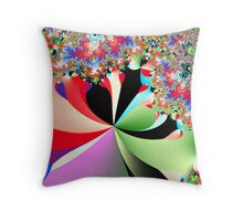 Colors of Life Throw Pillow