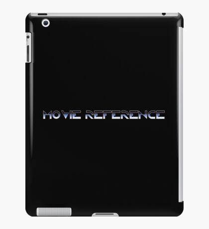Movie Reference - TRON iPad Case/Skin