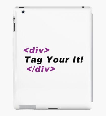 div tag iPad Case/Skin