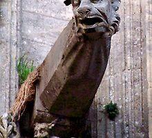 gargoyle in bayeaux by blhudson101