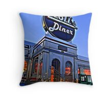 Kroll's Diner Throw Pillow