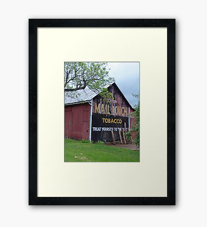 Mail Pouch Tobacco Framed Print