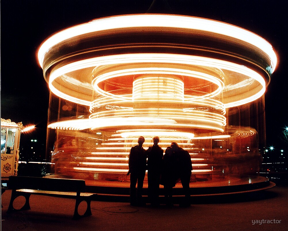 Paris Carousel 2000 by yaytractor
