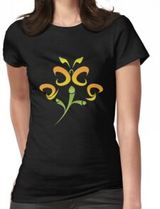 2009 - Colorful Flutter Womens Fitted T-Shirt