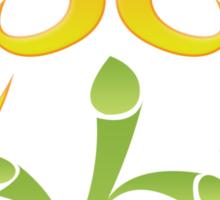 2009 - Colorful Flutter Sticker