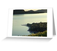 Quiet Evening at Nipigon Bay Greeting Card