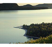 Quiet Evening at Nipigon Bay Photographic Print