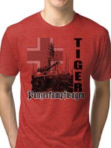 tiger tank Panzerkampfwagen Tri-blend T-Shirt