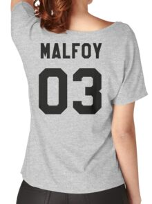 Draco Malfoy Jersey Women's Relaxed Fit T-Shirt