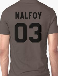 Draco Malfoy Jersey Unisex T-Shirt