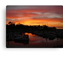 Breathtaking Sunsets Canvas Print