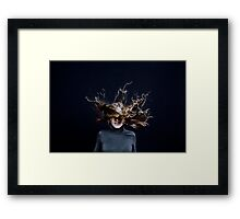 The Tunnels of Deimos Framed Print