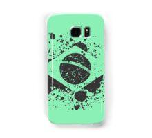 Grunge Brazilian Flag Samsung Galaxy Case/Skin