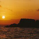 Sun Setting Over Dent Island © Vicki Ferrari by Vicki Ferrari