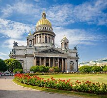 Saint Isaac's Cathedral, Saint Petersburg, Russia by Artcomma