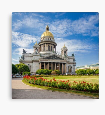 Saint Isaac's Cathedral, Saint Petersburg, Russia Canvas Print