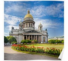 Saint Isaac's Cathedral, Saint Petersburg, Russia Poster