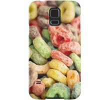 Colourful Fun Abstract Food Art Kitchen Diner Breakfast Cereal Samsung Galaxy Case/Skin