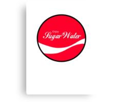 Enjoy Sugar Water Canvas Print