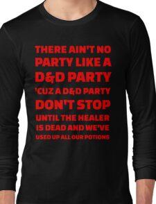 D&D Party Long Sleeve T-Shirt