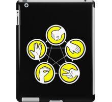 Rock Paper Scissor Lizard Spock iPad Case/Skin