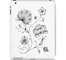 Polish Folk Art Flowers iPad Case/Skin