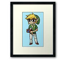 Hipster Link Framed Print