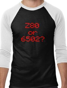Z80 or 6502? Men's Baseball ¾ T-Shirt