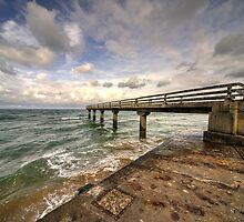 Atlantic Jetty  by Rob Hawkins