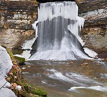 Winter at Porter Cave by Kenneth Keifer