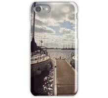 Boats in Bayfield iPhone Case/Skin