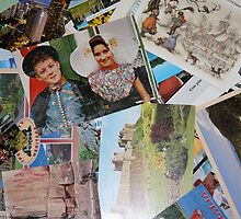Postcards From My Past! by Lesley  Hill