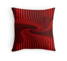 red lines... Throw Pillow