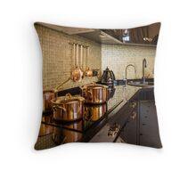 luxury  kitchen Throw Pillow