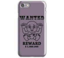 wanted reward 1.000.000 iPhone Case/Skin