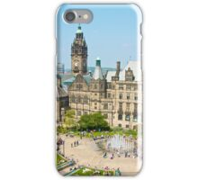 Sheffield Peace Gardens iPhone Case/Skin