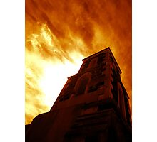Lara Anglican In Flames ONE Photographic Print