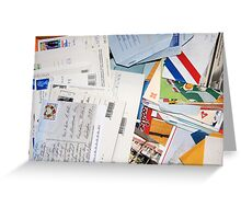 Mail from the Past! Greeting Card