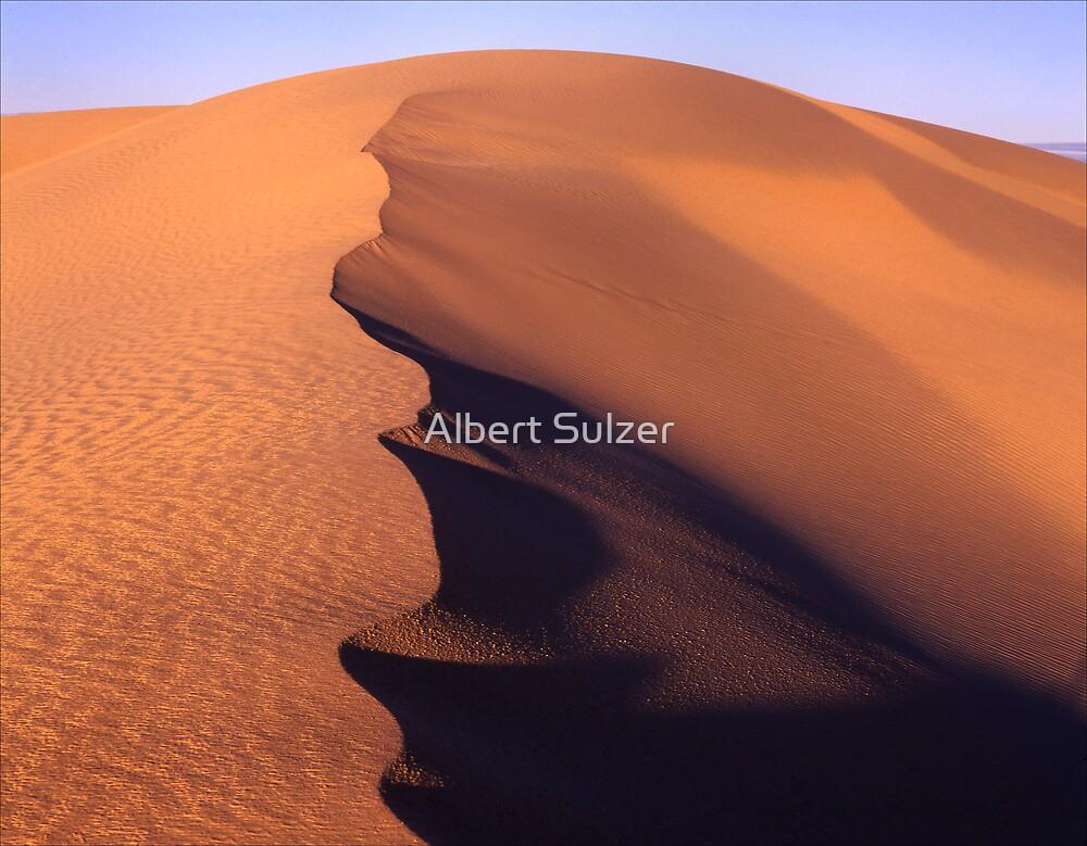 Mungo Dune-4  Mungo Nat.Park. Australia by Albert Sulzer