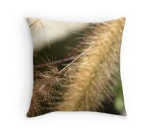 Natural Tails Throw Pillow