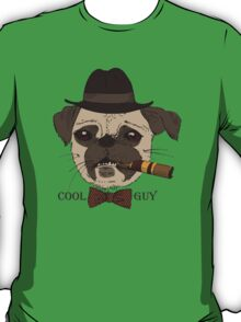 Hipster dog - cool guy T-Shirt