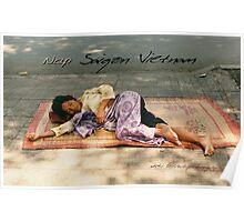 Vietnam Nap © Vicki Ferrari Photography Poster