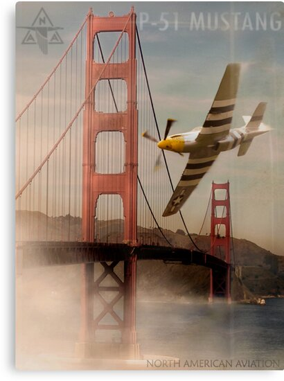 P51 Mustang by Cliff Vestergaard