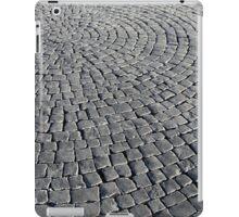 old smooth cobblestones iPad Case/Skin