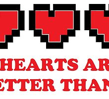 3 Hearts Are Better Than 1 by creativejamie