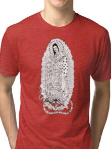 Our Lady of Guadalupe Tri-blend T-Shirt